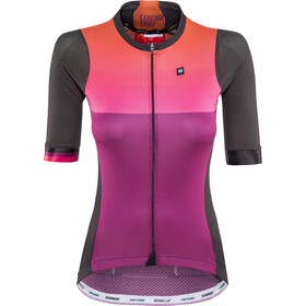 Biehler Pro Team Bike Jersey Women leuchtstoff